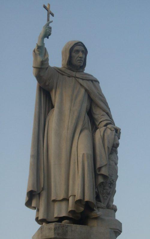 Savonarola From the statue by E. Pazzi, Uffizi Gallery, Florence