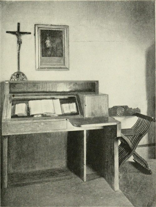Savonarola's Cell From a photograph