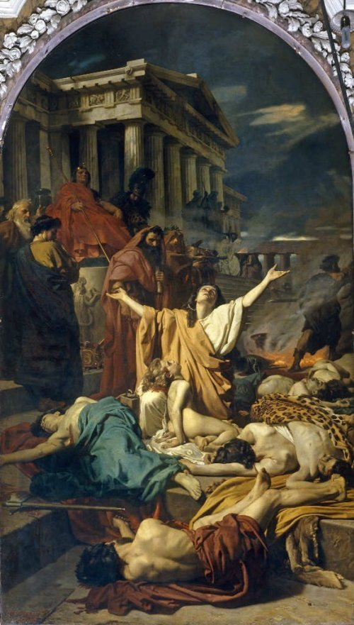 The Maccabees From the painting by Antonio Ciseri