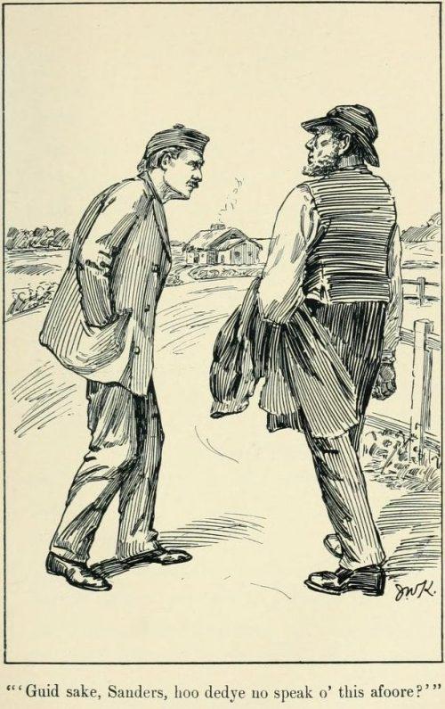 Auld Licht Idylls - Guid sake, Sanders, hoo did ye no speak o' this afore?