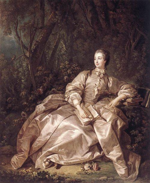Madame de Pompadour After the painting by Fr. Boucher