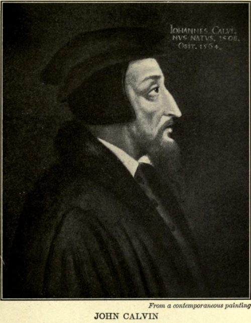 John Calvin From a contemporaneous painting