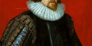 Portrait of Lord Francis Bacon by Paul Van Somer