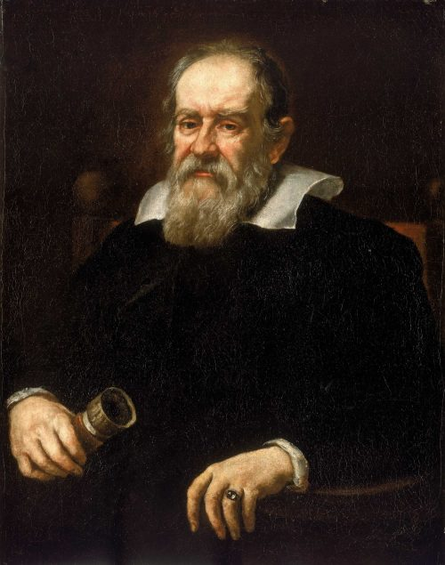 Portrait of Galileo Galilei by Justus Suttermans