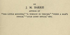 An Edinburgh Eleven by James Matthew Barrie