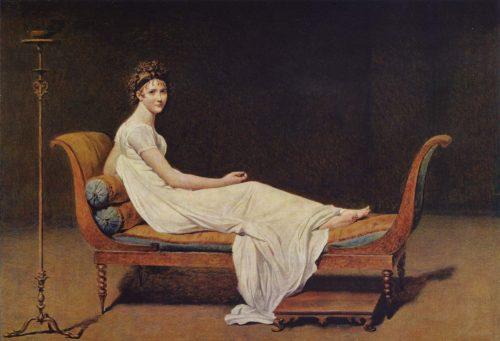 Madame de Récamier Painting by Jacques-Louis David