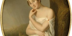 Portrait of Madame de Récamier