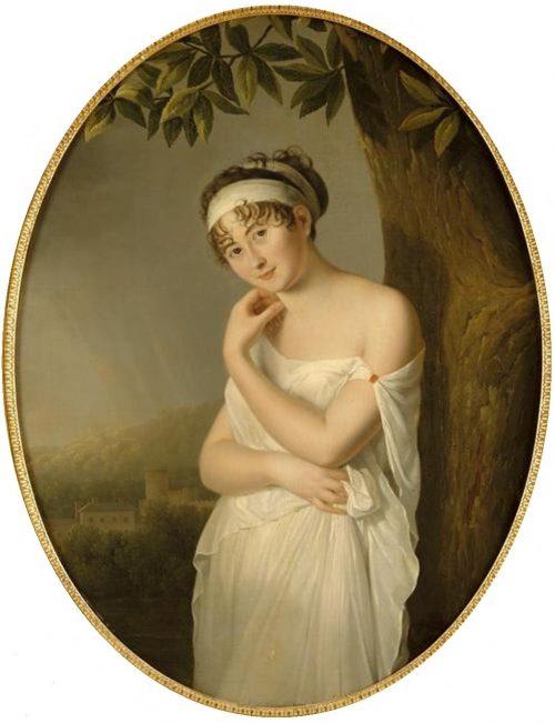 Portrait of Madame de Récamier