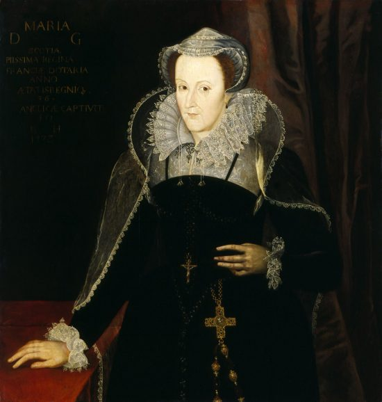 Mary, Queen of Scots painting after Nicholas Hilliard