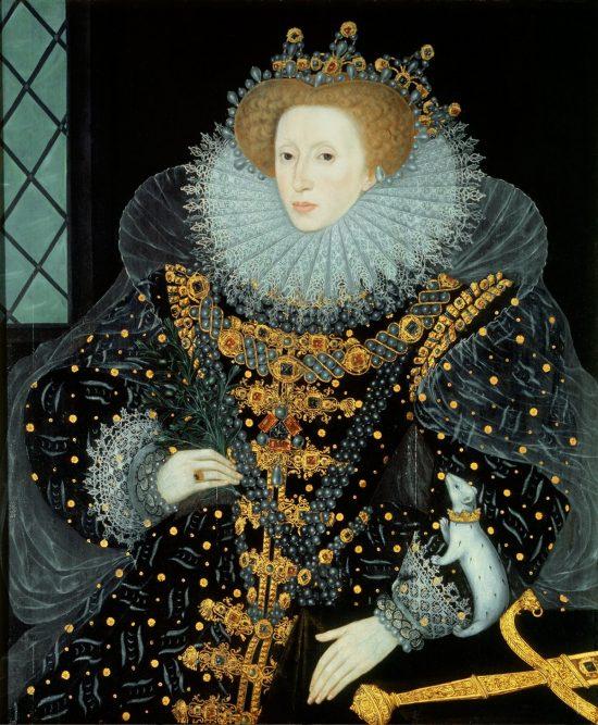 The Ermine Portrait of Queen Elizabeth I of England