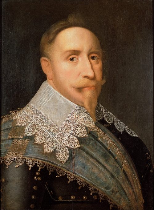 Gustavus Adolphus, King of Sweden painting by Jacob Hoefnagel