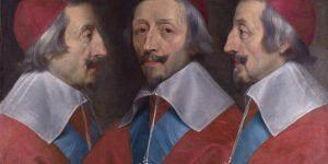 Cardinal Richelieu painting by Philippe de Champaigne, National Gallery, London