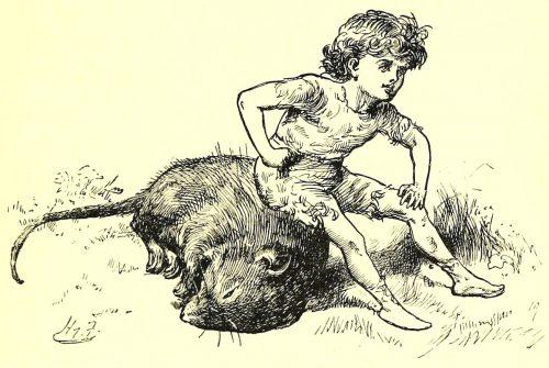 Sylvie and Bruno - Bruno's Revenge Illustration by Harry Furniss