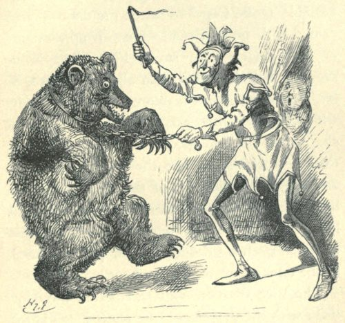 Sylvie and Bruno - Come Up, Bruin! Illustration by Harry Furniss