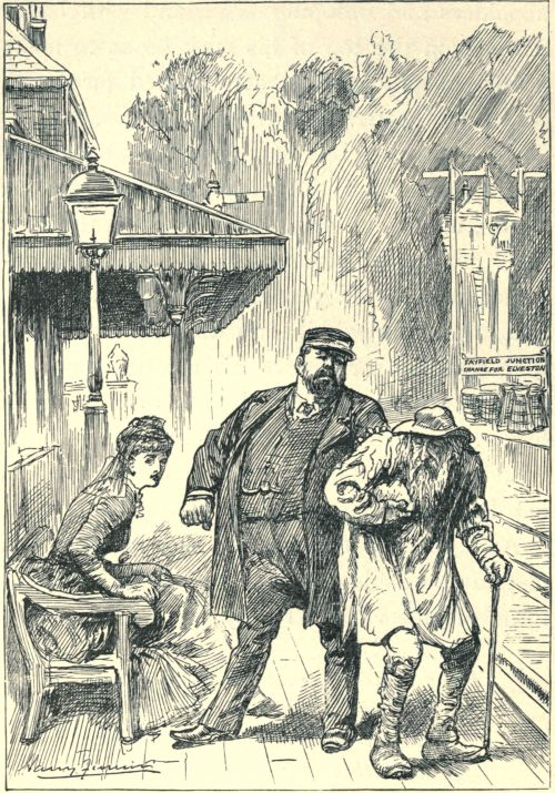 Sylvie and Bruno - Come, You Be Off! Illustration by Harry Furniss