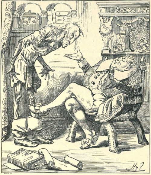 Sylvie and Bruno - Such Boots As These You Seldom See Illustration by Harry Furniss