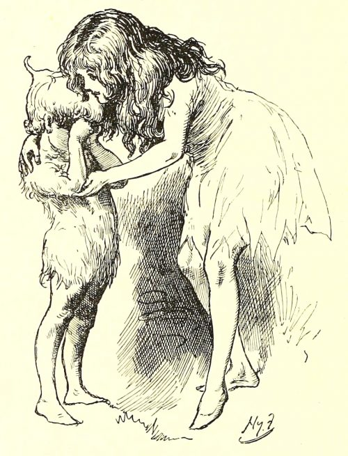 Sylvie and Bruno - What's The Matter, Darling? Illustration by Harry Furniss
