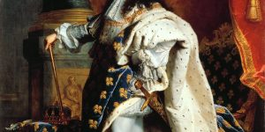 King Louis XIV of France, painting by Hyacinthe Rigaud