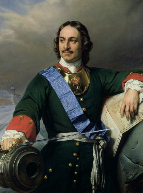 Peter the Great, painting by Paul Delaroche