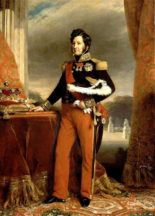 King Louis Philippe I of France, Painting by Franz Xaver Winterhalter