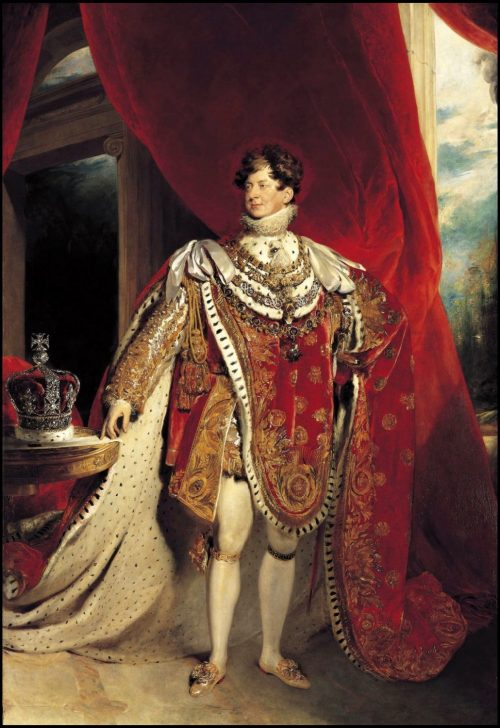 George IV of England After the painting by Sir Thomas Lawrence, Rome