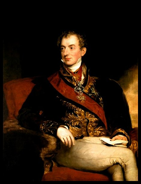 Prince Clemens Wenzel von Metternich, painting by Sir Thomas Lawrence