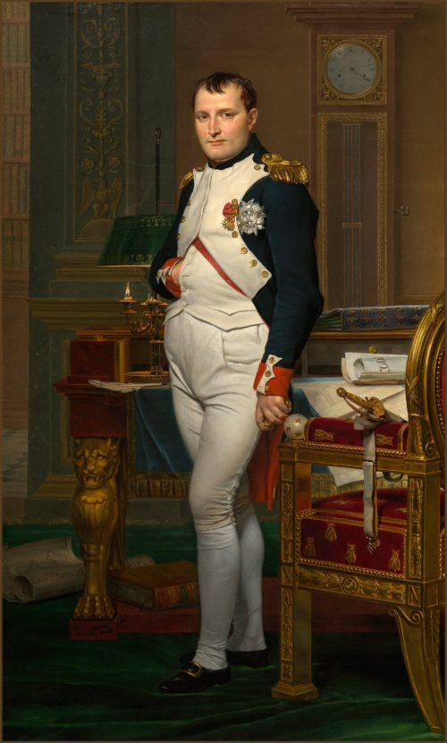 Emperor Napoleon, painting by Jacques-Louis David