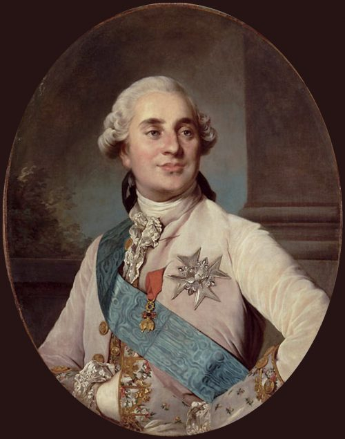 King Louis XVI of France and Navarre, painting by Joseph Siffred Duplessis