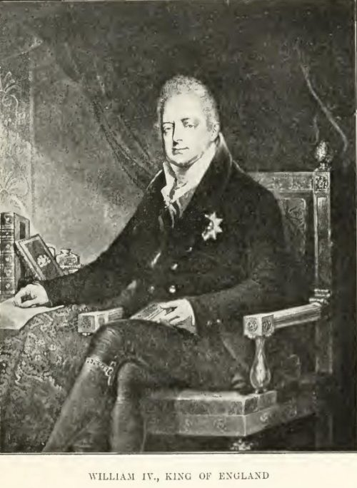 William IV. King of England After the painting by Sir Thomas Lawrence