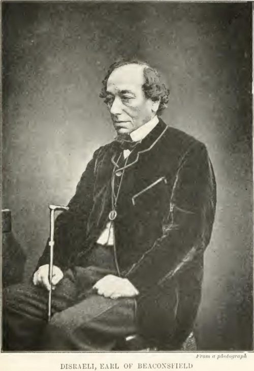 Disraeli, Earl of Beaconsfield From a photograph