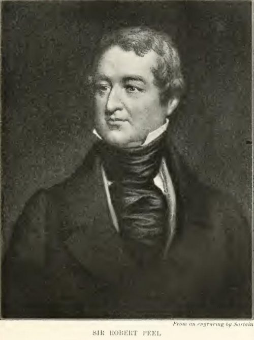 Sir Robert Peel From the engraving by Sartain