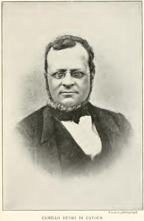Camillo Benso di Cavour From a photograph