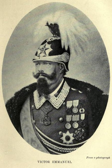 Victor Emmanuel, From a photograph
