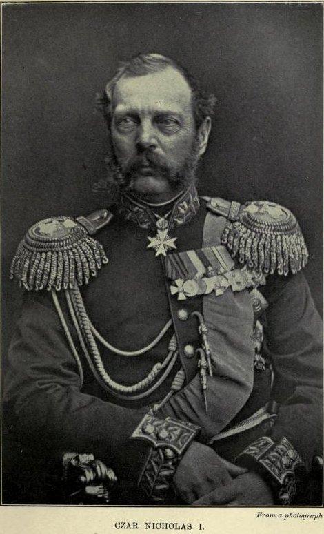 Czar Nicholas I, From a photograph