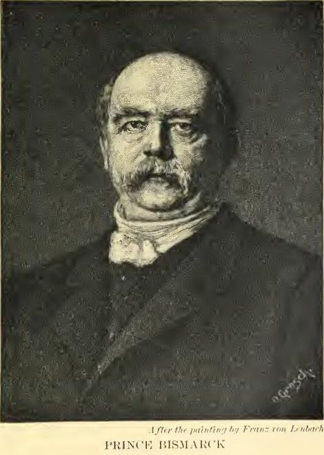 Bismarck After the painting by Franz von Lenbach