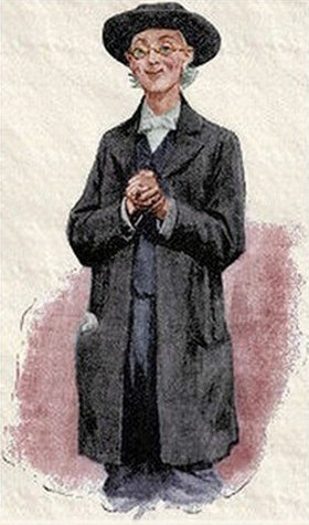 Sherlock Holmes A Scandal in Bohemia A simple-minded clergyman