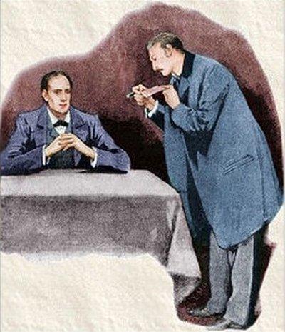 Sherlock Holmes A Scandal in Bohemia I carefully examined the writin
