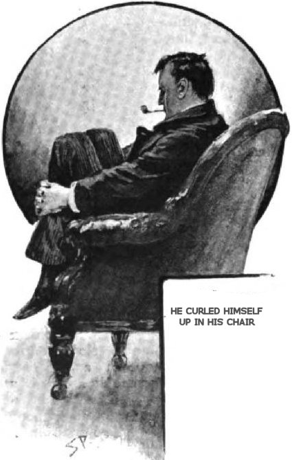 Sherlock Holmes The Red-Headed League He curled himself up in his chair