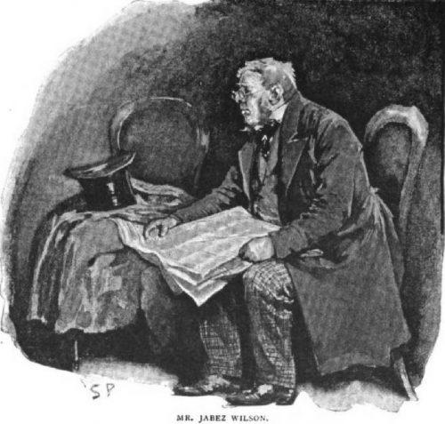Sherlock Holmes The Red-Headed League Mr. Jabez Wilson