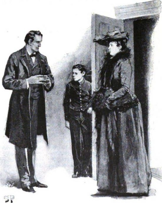 A Case of Identity Sherlock Holmes welcomed her