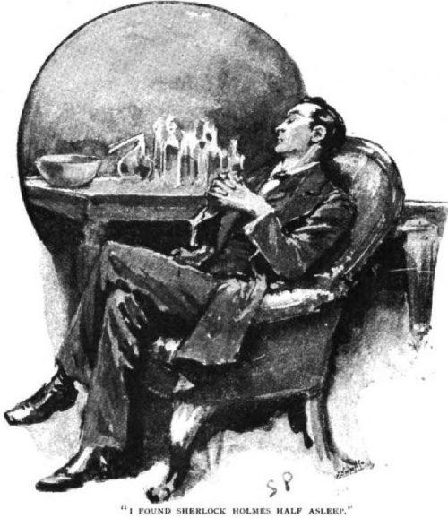 Sherlock Holmes A Case of Identity I found Sherlock Holmes alone, however, half asleep