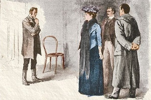 Sherlock Holmes The Boscombe Valley Mystery Do you not yourself think that he is innocent?