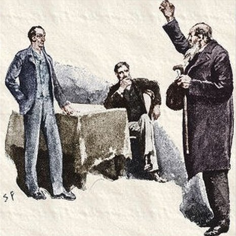 Sherlock Holmes The Boscombe Valley Mystery Farewell, then, said the old man solemnly