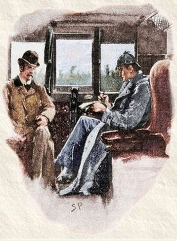 Sherlock Holmes The Boscombe Valley Mystery We had the carriage to ourselves