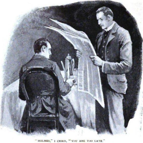 Sherlock Holmes The Five Orange Pips Holmes, I cried, you are too late