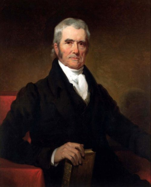 John Marshall painting by Henry Inman