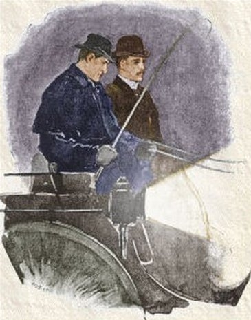 Sherlock Holmes The Man with the Twisted Lip He flicked the horse with his whip