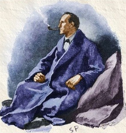 Sherlock Holmes The Man with the Twisted Lip The pipe was still between his lips