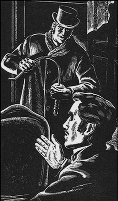 Sherlock Holmes The Speckled Band He seized the poker, and bent it into a curve with his huge brown hands