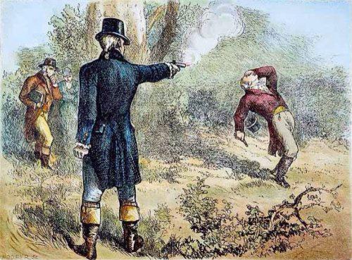 Duel between Alexander Hamilton and Aaron Burr